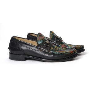 RINO ICONIC EMBROIDERED LOAFERS